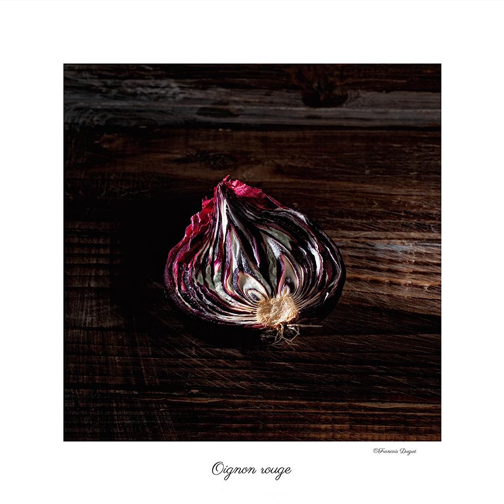 oignon rouge, oignon, nature morte, grosminet, photographe francois dugue, photographe françois dugué, photographe rouen, photographe publicitaire rouen, auteur photographe