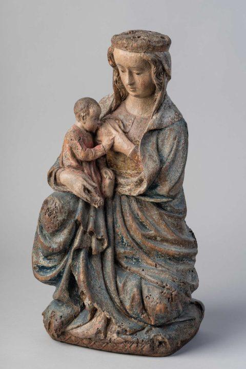 vierge allaitant, abbaye de graville, agencemuseo, françois dugué, photographe rouen, francois dugue photographe rouen