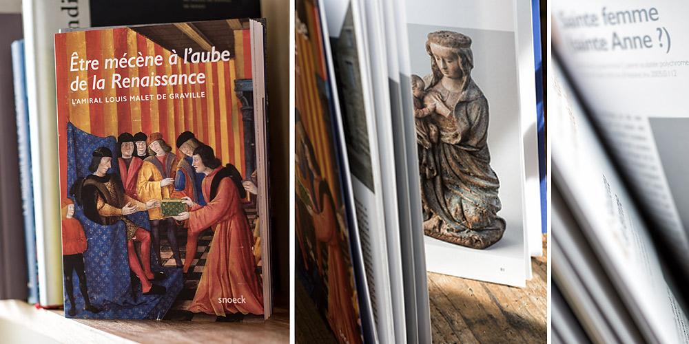 Abbaye de Graville, Francois Dugue photographe rouen